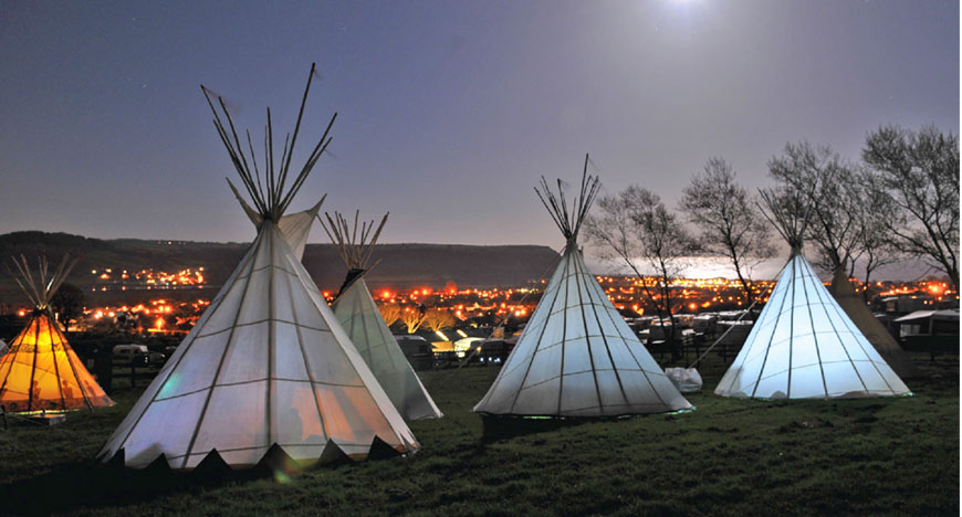Book your festival tipi hire now & Eve\u0027s Tipis - hire Tipis on the Isle of Wight