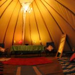 Inside our Tipis